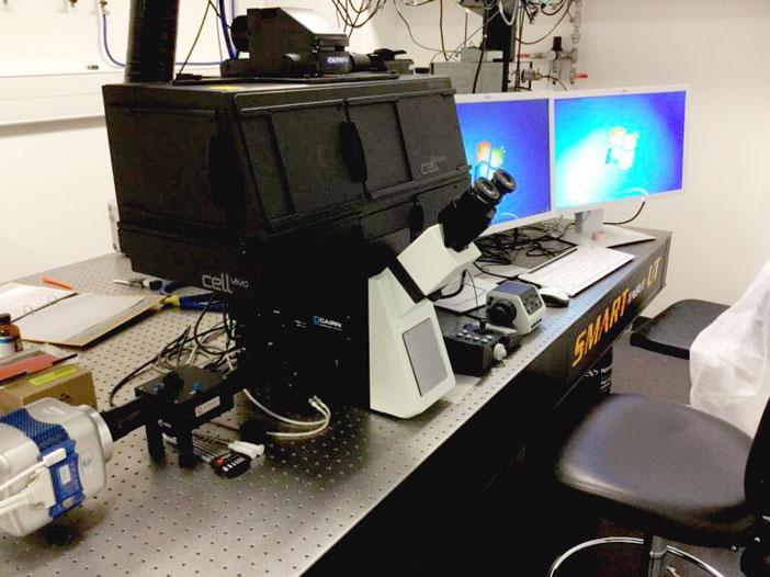 Olympus TIRF Microscope
