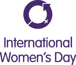 International woman's Day logo