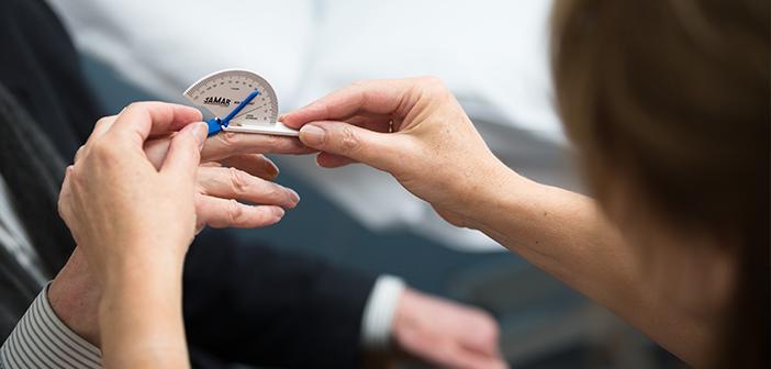 Measuring pain in hand osteoarthritis